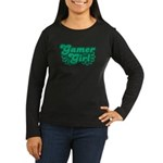 Gamer Girl Women's Long Sleeve Dark T-Shirt
