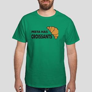HG Peeta has croissants Dark T-Shirt