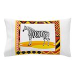 Zebra Pillow Case