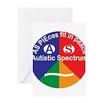 Autistic Symbol Greeting Card