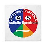 Autistic Symbol Queen Duvet