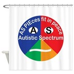 Autistic Symbol Shower Curtain