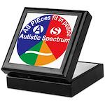 Autistic Symbol Keepsake Box