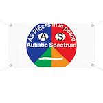 Autistic Symbol Banner