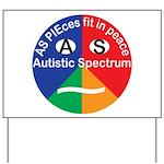Autistic Symbol Yard Sign