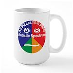 Autistic Symbol Large Mug