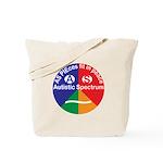 Autistic Symbol Tote Bag