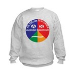Autistic Symbol Kids Sweatshirt