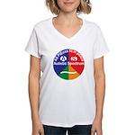 Autistic Symbol Women's V-Neck T-Shirt