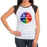 Autistic Symbol Junior's Cap Sleeve T-Shirt
