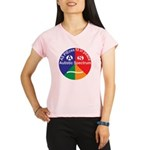 Autistic Symbol Performance Dry T-Shirt