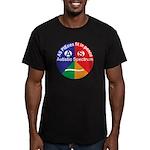 Autistic Symbol Men's Fitted T-Shirt (dark)