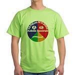 Autistic Symbol Green T-Shirt