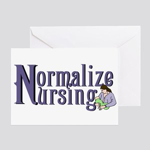 Normalize Nursing Greeting Card