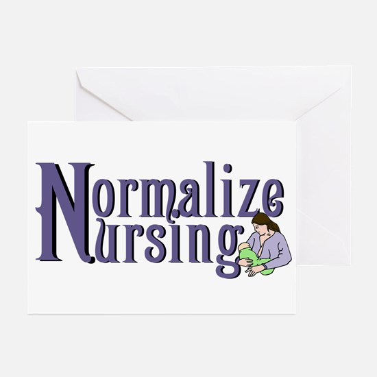 Normalize Nursing Greeting Cards (Pk of 10)