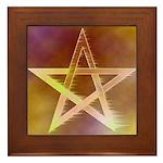 Pentagram Framed Tile