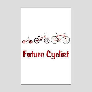Future Cyclist Mini Poster Print