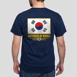 """Republic of Korea Flag"" Dark T-Shirt"