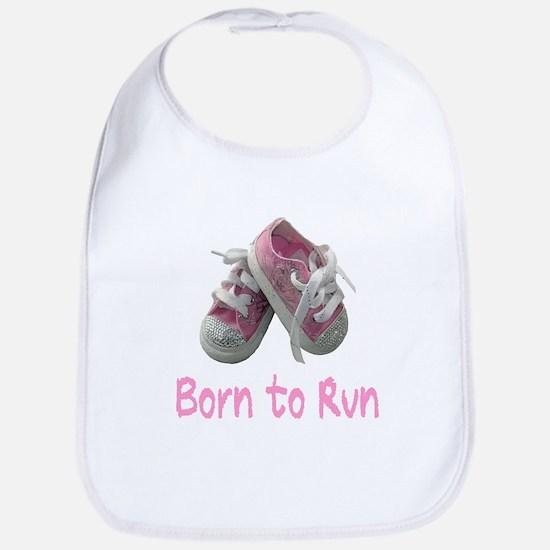 Born to Run Girl Bib