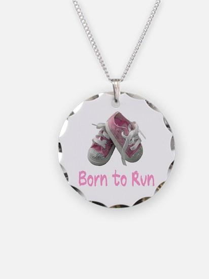 Born to Run Girl Necklace