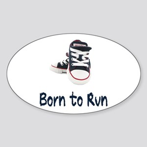 Born to Run Sticker (Oval)