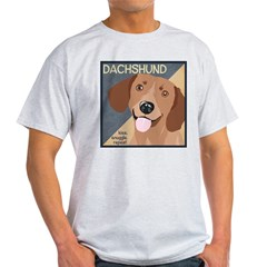 Dachshund-Kiss.Snuggle.Repeat. T-Shirt