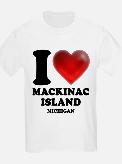 I Heart Mackinac Island T-Shirt