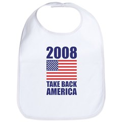 Take America Back Bib