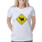 Chicken Road Crossing Women's Classic T-Shirt