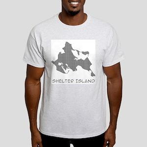 Shelter Island Text Light T-Shirt