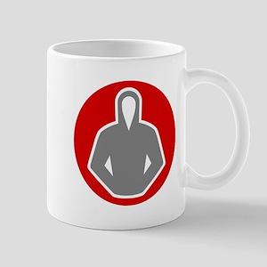 gray hoodie 07 Mug