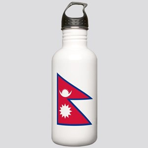 Nepal Flag Stainless Water Bottle 1.0L