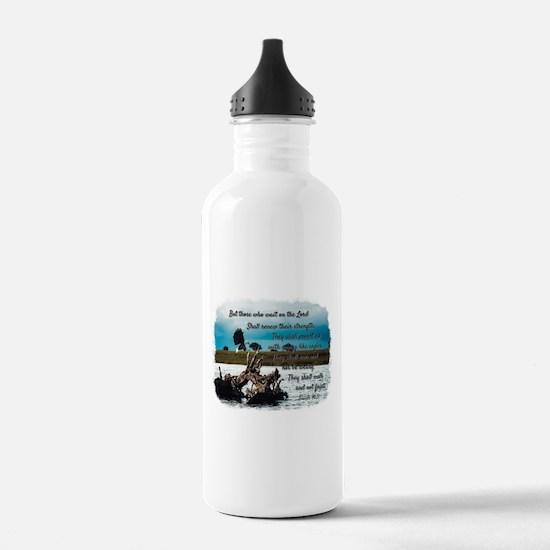 Eagle Isaiah 40:31 Water Bottle