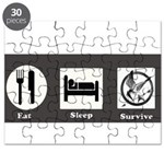 Eat, Sleep, Survive Puzzle