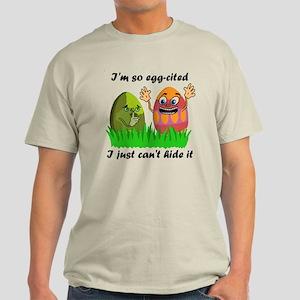 Funny Easter Eggs Light T-Shirt