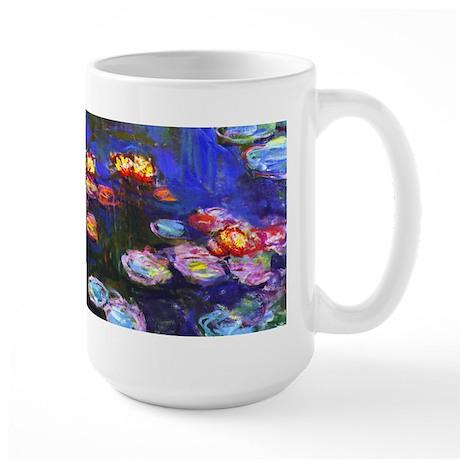 Monet - Water Lilies 1916 Large Mug
