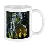 Checkered Mission Bell Lily Flower Mug