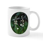 White Veined Wintergreen Flower Mug