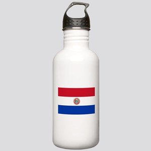Paraguay Flag Stainless Water Bottle 1.0L