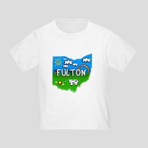 Fulton, Ohio. Kid Themed Toddler T-Shirt