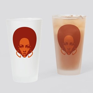 Afrolicious Drinking Glass
