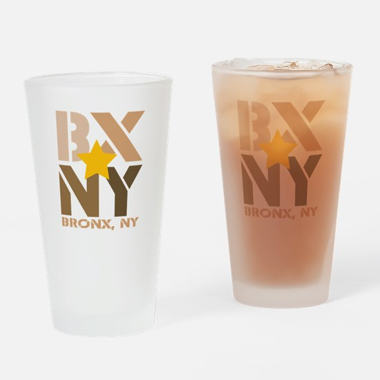 BX, Bronx Brown Drinking Glass
