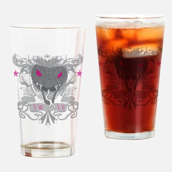 Snake 87 Drinking Glass