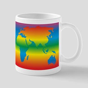 world rainbow 1: Mug