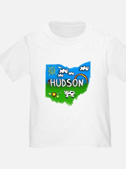 Hudson, Ohio. Kid Themed T