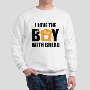 HG I love the boy with bread Sweatshirt