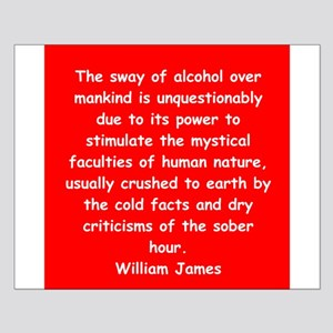 william james Small Poster