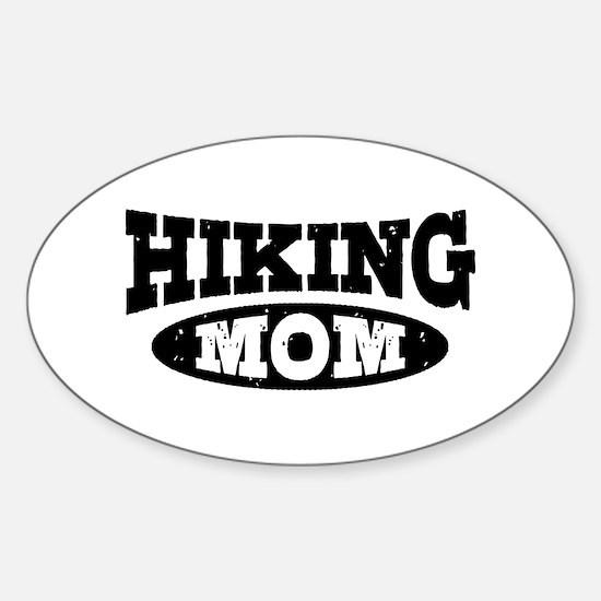Hiking Mom Sticker (Oval)