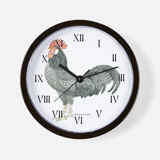 Adam Rooster Wall Clock