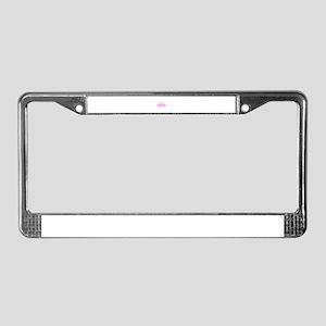 Pink01 License Plate Frame